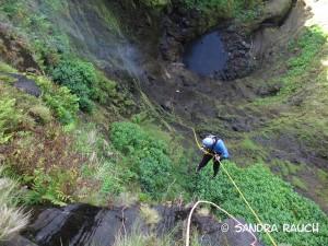 100-Meter mit zwei Umsteigern, Mouco Flores/Azoren, ©srauch